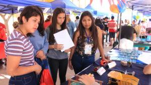 Baquedano recibió la 3ª Feria Vocacional »Mi camino profesional»