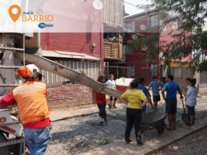 Más Barrio Melón: hormigón para las comunidades