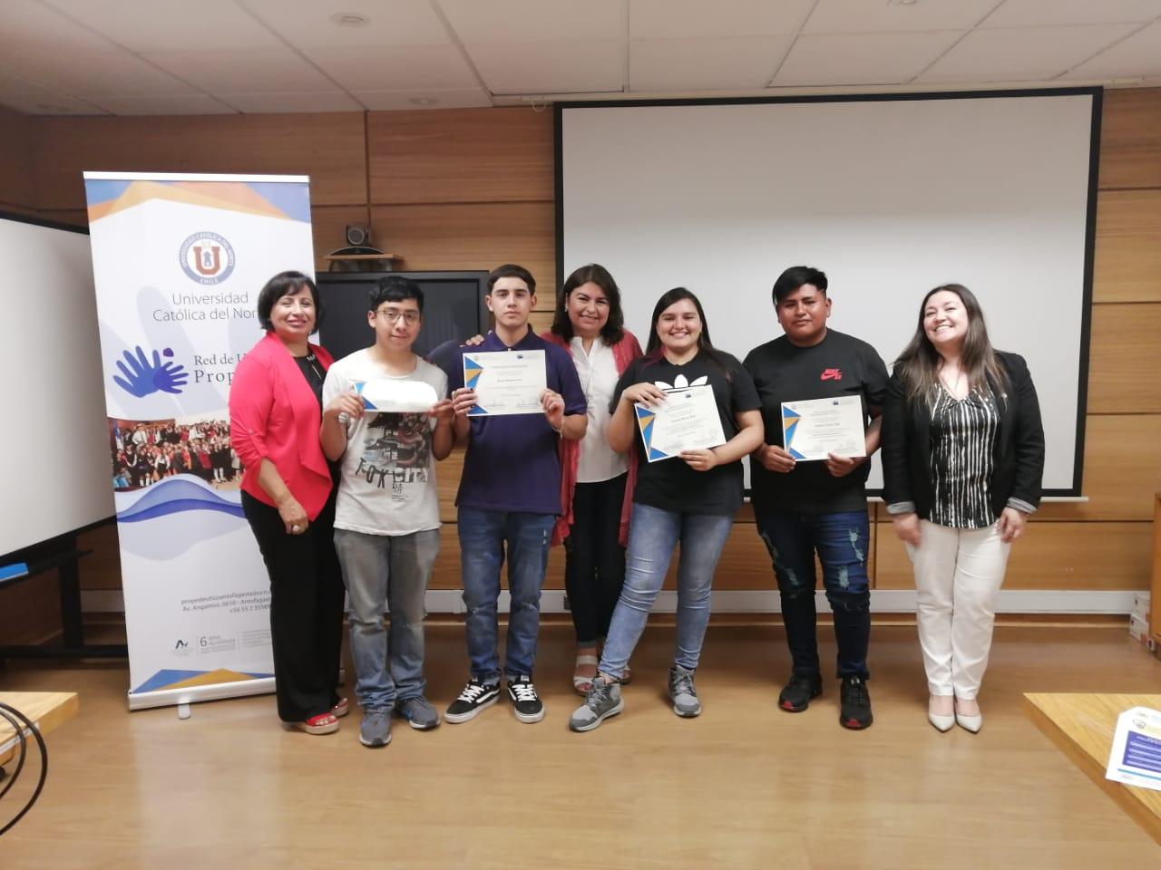 Con éxito finaliza programa Becas Académicas 2019